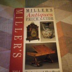 Libros de segunda mano: LIBRO MILLER'S ANTIQUES PRICE GUIDE. 1994. LONDON,GUIA DE PRECIOS.. Lote 180897975