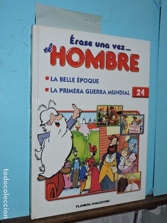 ÉRASE UNA VEZ EL HOMBRE Nº24. ED. PLANETA DEAGOSTINI. NAVARRA 2003 (Libros de Segunda Mano - Literatura Infantil y Juvenil - Otros)