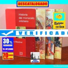 Libros de segunda mano: HISTORIA DEL MONACATO CRISTIANO - 3 TOMOS CON ESTUCHE - COMPLETA - ALEJANDRO MASOLIVER - 70 EUROS. Lote 180458785