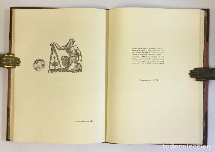 Libros de segunda mano: EL QUART CENTENARI DE LA IMPPRESSIÓ DE LA CRÒNICA DE RAMON MUNTANER... CENDROS I CARBONELL, Joan B. - Foto 3 - 180959877