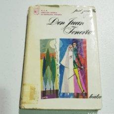 Libros de segunda mano: DON JUAN TENORIO - ZORILLA - TDK162. Lote 180978612