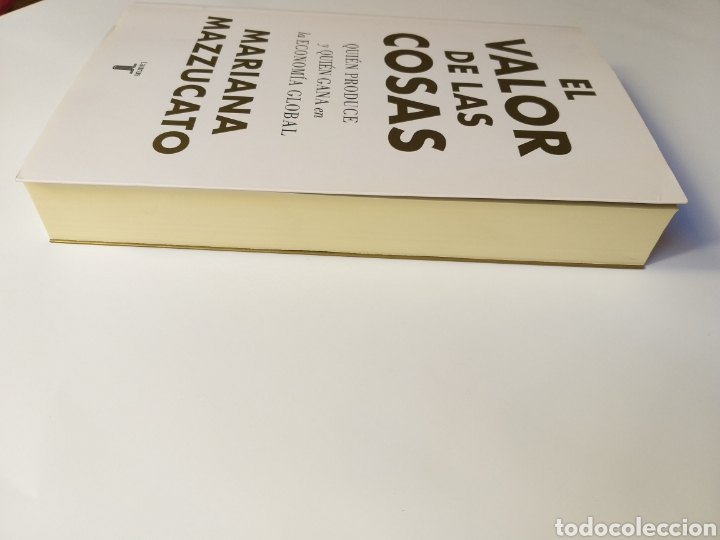 Libros de segunda mano: Pensamiento siglo XXI . El valor de las cosas quién produce y quién gana en la economía global . Mar - Foto 4 - 181019636