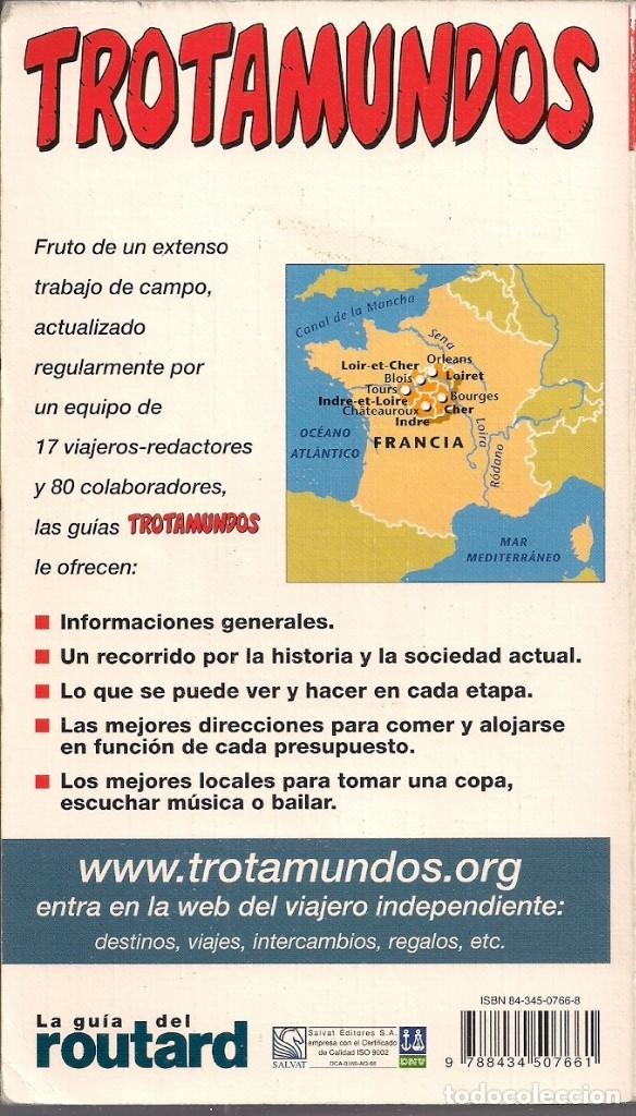 Libros de segunda mano: Castillos del Loira - Guía Trotamundos Edición en Castellano - Foto 2 - 181085902