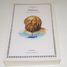 Libros de segunda mano: HOMERO - ODISEA - CATEDRA - TDK157. Lote 181091068