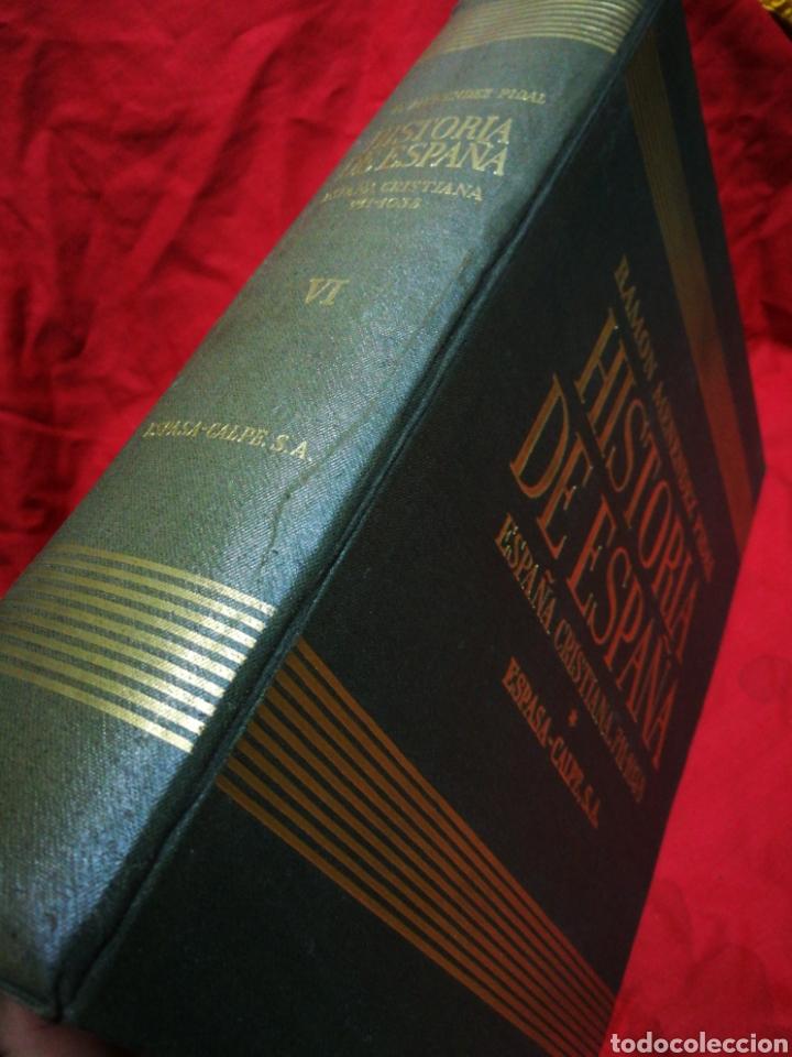 Libros de segunda mano: HISTORIA DE ESPAÑA- ESPAÑA CRISTIANA (711-1038), ESPASA-CALPE. RAMON MENÉNDEZ PIDAL, TOMO 6.1957. - Foto 2 - 181107548