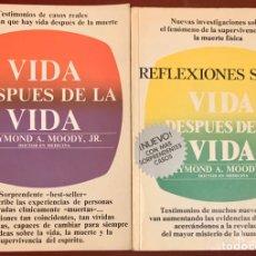Libros de segunda mano: 2 LIBROS: VIDA DESPUÉS DE LA VIDA Y REFLEXIONES SOBRE VIDA DESPUÉS DE LA VIDA.. Lote 181111697