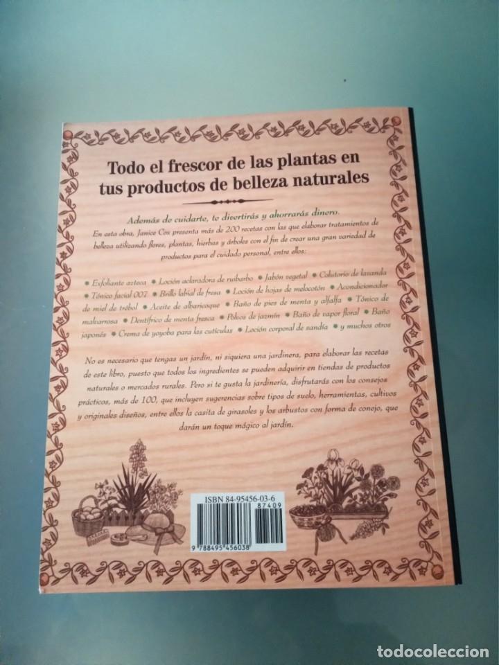 """Libros de segunda mano: Libro """"Belleza natural con productos naturales"""" de Janice Cox - Foto 2 - 181111916"""