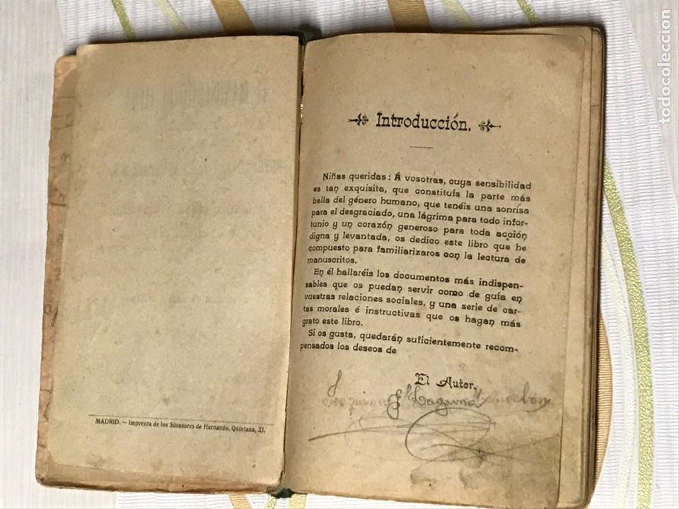 Libros de segunda mano: EL MANUSCRITO DE ELENA - CARTAS INSTRUCTIVAS Y FAMILIARES PARA NIÑAS Eugenio garcia y barbarin 1924 - Foto 4 - 195386886