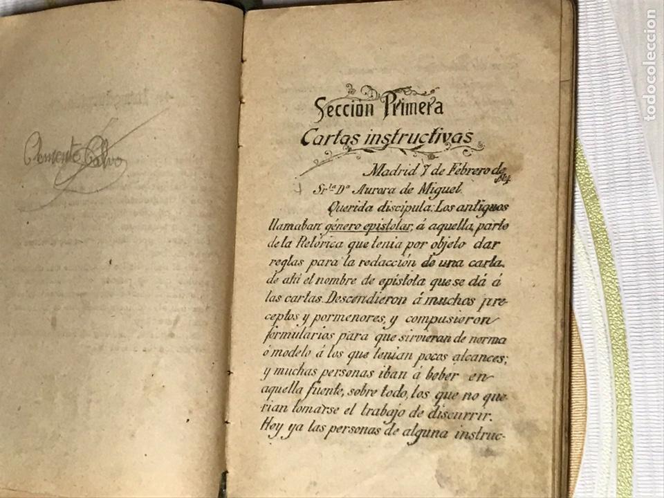Libros de segunda mano: EL MANUSCRITO DE ELENA - CARTAS INSTRUCTIVAS Y FAMILIARES PARA NIÑAS Eugenio garcia y barbarin 1924 - Foto 5 - 195386886