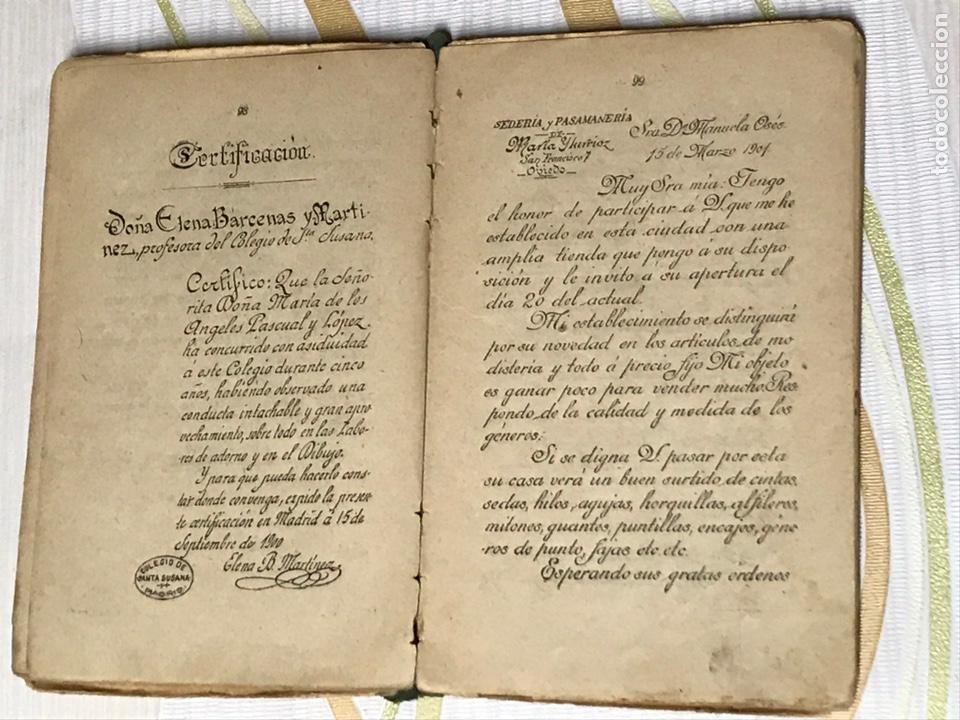 Libros de segunda mano: EL MANUSCRITO DE ELENA - CARTAS INSTRUCTIVAS Y FAMILIARES PARA NIÑAS Eugenio garcia y barbarin 1924 - Foto 6 - 195386886