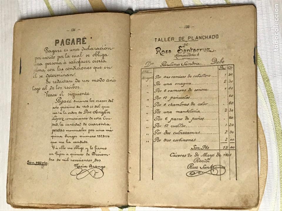 Libros de segunda mano: EL MANUSCRITO DE ELENA - CARTAS INSTRUCTIVAS Y FAMILIARES PARA NIÑAS Eugenio garcia y barbarin 1924 - Foto 7 - 195386886