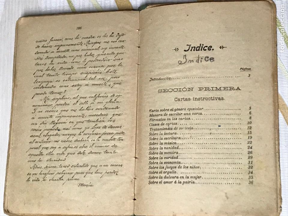Libros de segunda mano: EL MANUSCRITO DE ELENA - CARTAS INSTRUCTIVAS Y FAMILIARES PARA NIÑAS Eugenio garcia y barbarin 1924 - Foto 8 - 195386886