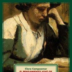 Libros de segunda mano: EL PENSAMIENTO VIVO DE CONCEPCIÓN ARENAL. CLARA CAMPOAMOR. NUEVO. Lote 225750478
