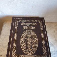 Libros de segunda mano: SAGRADA BIBLIA ILUSTRADA POR GUSTAVO DORE. Lote 181162067