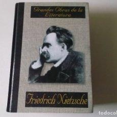 Libros de segunda mano: FRIEDRICH NIETZSCHE ASI HABLO ZARATHUSTRA ALBOR LIBROS , 2002. Lote 181171352