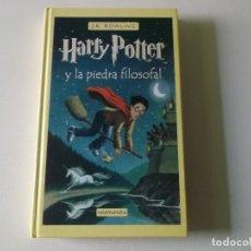 Libros de segunda mano: HARRY POTTER Y LA PIEDRA FILOSOFAL,SALAMANDRA, 2002, TAPA DURA. Lote 181172702