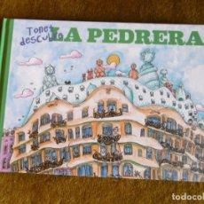 Libros de segunda mano: TONET DESCUBRE LA PEDRERA, ILUSTRACIONES PILARÍN BAYÉS.. Lote 181177202