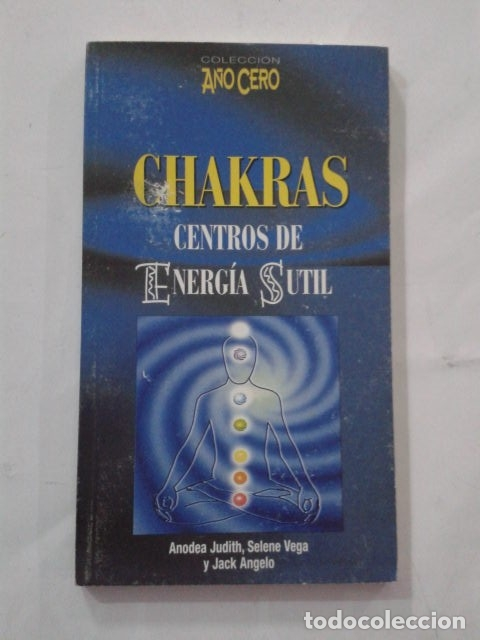 CHAKRAS. CENTROS DE ENERGÍA SUTIL. (Libros de Segunda Mano - Parapsicología y Esoterismo - Otros)