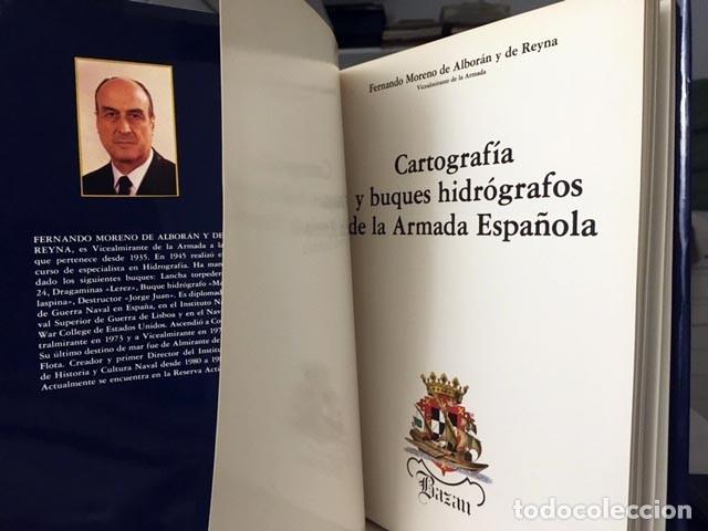 Libros de segunda mano: Cartografía y buques hidrógrafos de la Armada Española. (Mapas, Planos, Fortificaciones - Foto 3 - 181230828