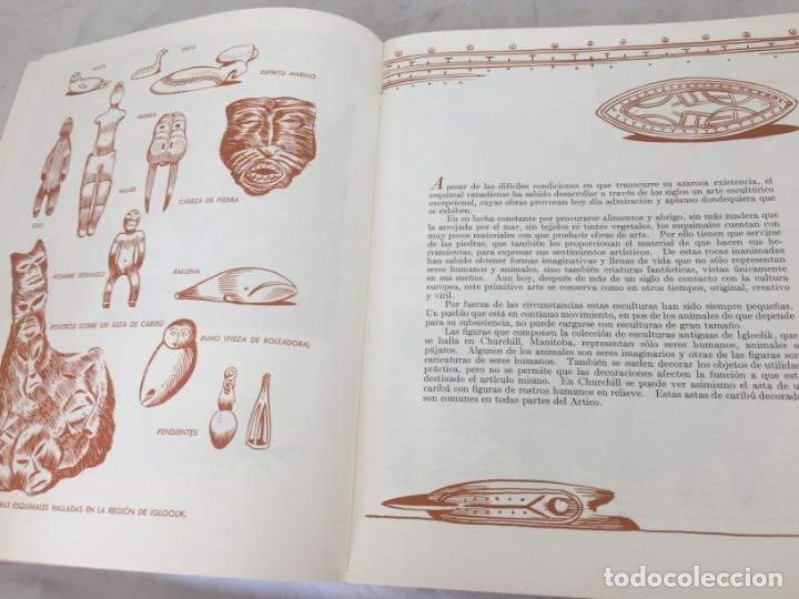Libros de segunda mano: ARTE ESQUIMAL CANADIENSE, INUIT. Ministerio de Asuntos del Norte y Recursos Nacionales. Ottawa, 1957 - Foto 5 - 181325713