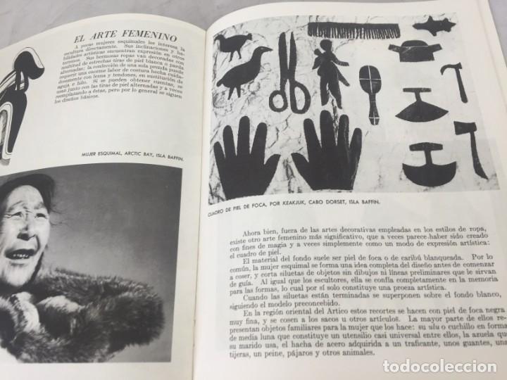 Libros de segunda mano: ARTE ESQUIMAL CANADIENSE, INUIT. Ministerio de Asuntos del Norte y Recursos Nacionales. Ottawa, 1957 - Foto 9 - 181325713