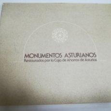 Libros de segunda mano: MONUMENTOS ASTURIANOS. RESTAURADOS POR LA CAJA DE AHORROS DE ASTURIAS. 1978.. Lote 181330467