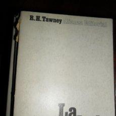 Livres d'occasion: LA SOCIEDAD ADQUISITIVA, R.H. TAWNEY, ED. ALIANZA. Lote 181334738