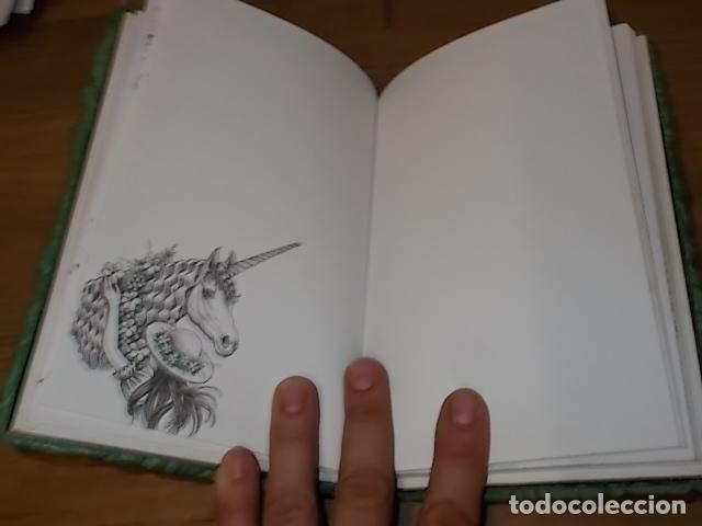 Libros de segunda mano: MI DIARIO DE UNICORNIOS . SUSAETA EDICIONES. CUBIERTA : SEYMOUR SCHACHTER. DIBUJOS : JULIE BERSON - Foto 7 - 181352388