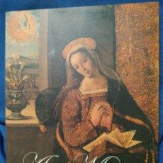 Libros de segunda mano: AVE MARÍA. CATÁLOGO DE LA EXPOSICIÓN EN HUELVA EN 2002. CAJASUR PUBLICACIONES, 2002.. Lote 181354536