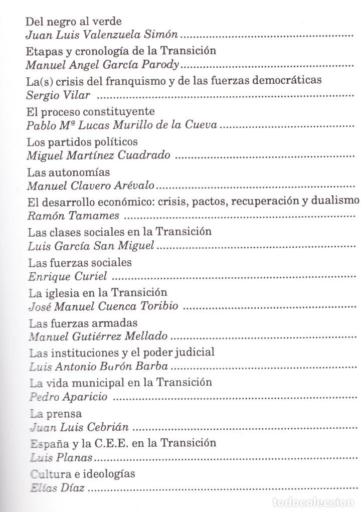 Libros de segunda mano: CONGRESO SOBRE LA TRANSICIÓN ESPAÑOLA CÓRDOBA 1990 - Foto 2 - 181422652