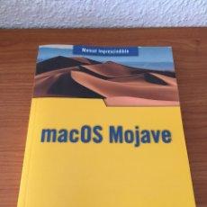 Libros de segunda mano: MANUAL DE MAC OS MOJAVE (ANAYA MULTIMEDIA). Lote 181471860