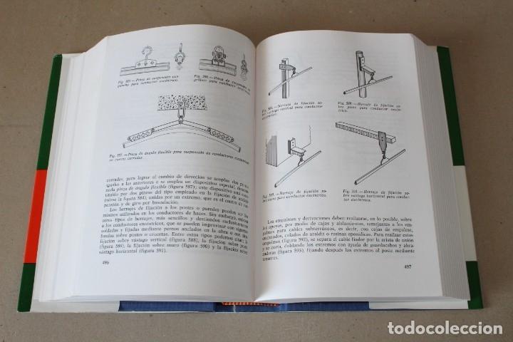 Libros de segunda mano: INSTALACIONES ELÉCTRICAS GENERALES. - 8º Edic 1993 ENCICLOPEDIA CEAC DE ELECTRICIDAD - Foto 7 - 237180775