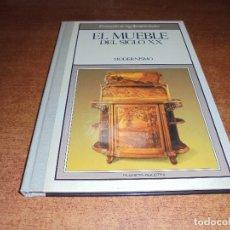 Libros de segunda mano: EL MUEBLE DEL SIGLO XX. MODERNISMO. EL MUNDO DE LAS ANTIGÜEDADES.. Lote 181534558