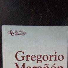 Libros de segunda mano: GREGORIO MARAÑÓN: RAÍZ Y DECORO DE ESPAÑA. ENSAYOS LIBERALES. Lote 181555852