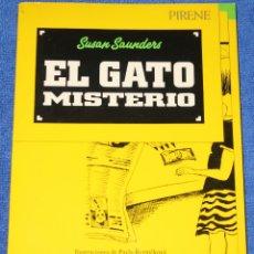 Libros de segunda mano: EL GATO MISTERIO - SUSAN SAUNDERS - PIRENE (1987). Lote 181605012