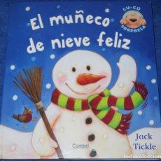 Libros de segunda mano: EL MUÑECO DE NIEVE FELIX - COLECCIÓN CU-CU SORPESA - LIBRO POP-UP - JACK TICKLE - COMBEL (2006). Lote 181611217