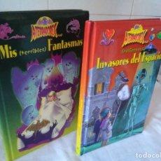 Libros de segunda mano: 153-ATERRADORES, 2 TOMOS, MIS TERRIBLES FANTASMAS, INVASORES DEL ESPACIO, 2001. Lote 181623412