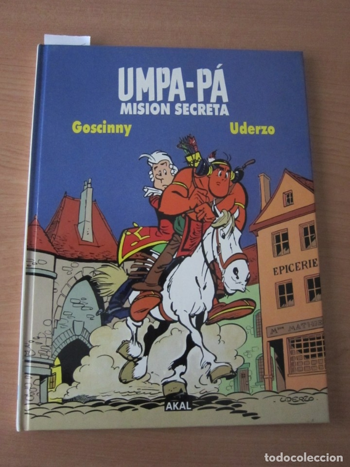 UMPA-PÁ MISIÓN SECRETA (Libros de Segunda Mano - Literatura Infantil y Juvenil - Otros)
