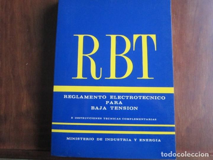 REGLAMENTO ELECTROTÉCNICO PARA BAJA TENSIÓN (Libros de Segunda Mano - Ciencias, Manuales y Oficios - Otros)
