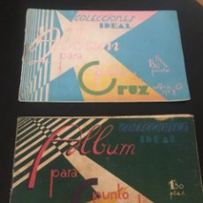 Libros de segunda mano: COLECCIONES IDEAL ALBUM PARA PUNTO DE CRUZ. Lote 181752462