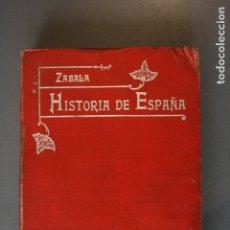 Libros de segunda mano: COMPENDIO DE HISTORIA DE ESPAÑA. MANUEL ZABALA URDANIZ. MADRID 1907 - MANUEL ZABALA URDANIZ. Lote 181758602