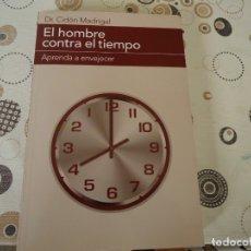 Libros de segunda mano: EL HOMBRE CONTRA EL TIEMPO. Lote 181780917
