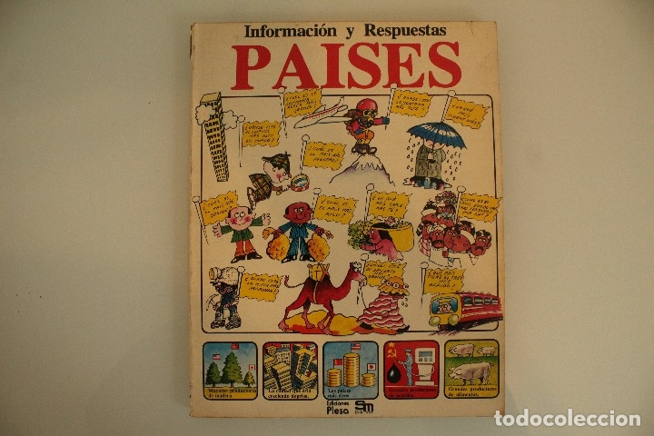 INFORMACIÓN Y RESPUESTAS PAÍSES EDICIONES PLESA (Libros de Segunda Mano - Literatura Infantil y Juvenil - Otros)