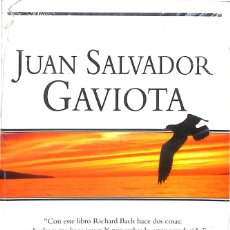 Libros de segunda mano: JUAN SALVADOR GAVIOTA / RICHARD BACH - CON FOTOGRAFIAS DE RUSSELL MUNSON - NUEVO PRECINTADO. Lote 181917290