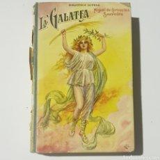Libros de segunda mano: LA GALATEA MIGUEL CERVANTES - SOPENA - TDK172. Lote 181957850