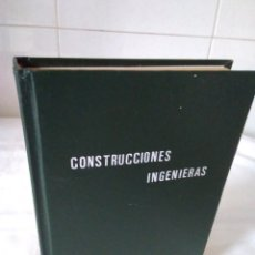 Libros de segunda mano: 77-CONSTRUCCIONES INGENIERAS, PROBLEMAS RESUELTOS Y PROPUESTOS, ARTURO LUIS ROMERO, . Lote 181963332