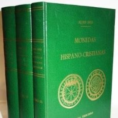 Livros em segunda mão: HEISS ... DESCRIPCION GENERAL DE LAS MONEDAS HISPANO-CRISTIANAS DESDE LA INVASION DE LOS ARABES 1975. Lote 181999170