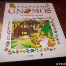 Livros em segunda mão: EL NUEVO MUNDO DE LOS GNOMOS Nº 1 LOS SEÑORES DE LA JUNGLA. 1.998 ORBIS FABBRI RBA EDITORIES. Lote 182000135