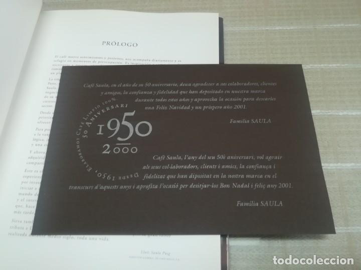 Libros de segunda mano: Detrás de una taza de café. Café Saula. Lluís Saula Puig. - Foto 3 - 182002287
