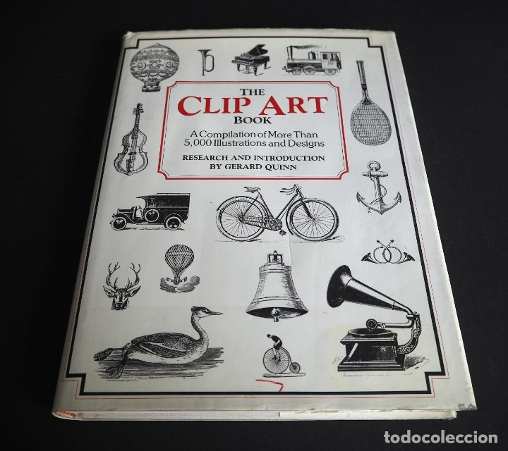 Libros de segunda mano: THE CLIP ART BOOK. Gerard Quinn. Crescent Books 1990 - Foto 1 - 182026698